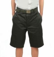 V3 Premium School Uniforms_Secondary Boys Short Pants_OLIVE GREEN