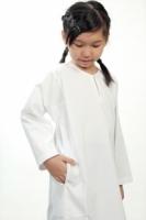 V3 Premium School Uniforms_Primary Girls Baju Kurung_SUPER WHITE