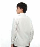 V3 Premium School Uniforms_Secondary Boys Long Sleeve White Shirt _SUPER WHITE