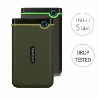 Transcend StoreJet 25M3 External Portable Hard Drive (1TB / 2TB)