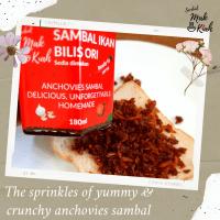 Sambal Ikan Bilis Original Mak Kiah