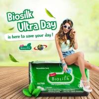 Biosilk Herbal Ultra Dayuse Sanitary Pad 240mm 20's