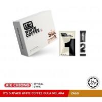IT'S SIXPACK WHITE COFFEE GULA MELAKA