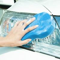 (E.City)E.City_Large Thickened Figure 8 Household Car Washing Waxing Sponge (3pcs)