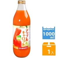 青森農協 青森蘋果紅蘿蔔汁 (1000ml)