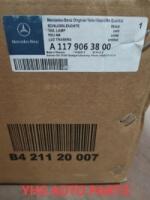 MERCEDES BENZ CLA W117 REAR TAILLIGHT RH(NEW MODEL) A1179063800