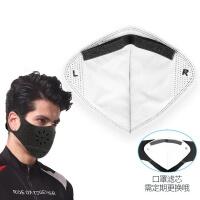 (活力揚邑)[Vigorous Yang Yun] post-applied activated carbon sports riding mask 6 layer filter anti-mite mask filter-1 into the group