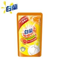 【白蘭】動力配方洗碗精補充包(鮮柚)800g