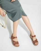 BNC Women Wedge Sandal - Camel - 801-21199
