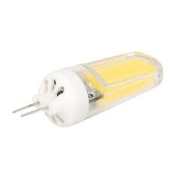 G4 LED Bulbs Dimmable 3W COB Bin-Pin Base 7000K Cold White AC 220-240V
