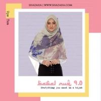 BAWAL NUQ 9.0 by SHAZAHA | Bawal Printed Premium Cotton Voile Bidang 55 | Labuh | Kain Sejuk | Senang Bentuk