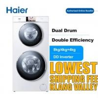 Haier HWD120-B1558 12KG Front Load Inverter Dual Drum Washer & Dryer