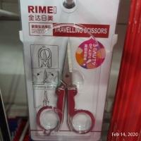 8cm Rimei Gunting Lipat Stainless Steel / Foldable Scissors