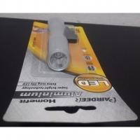 Silver Pairdeer LED Torch Light SLD-BL61