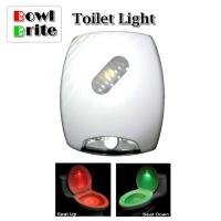BowlBrite Motion Sensor Toilet Night Light Lamp