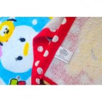 Tsum Tsum Cute Facial Towel Hand Towel Kitchen Toilet Bathroom Bedding Hanger