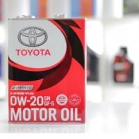 TOYOTA 0W20 High Performance Engine Oil 4 Liter