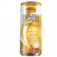 Wonda Coffee Latte Can 240ml