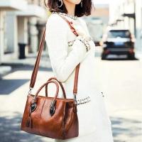 💓New💓 Fashion Ladies Handbag with Many Compartment [ Biqlin 217 ]