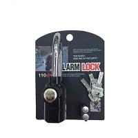 MALAYSIA- KUNCI MANGGA BERBUNYI Door Motor Bike  Car Alarm 110dB Pad Lock