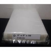 PP 08 Plastic Bag / 3 x 5 inch Clear PP 08 (0.08mm) Plastic Bag / Thick PP Bag / Jenis Tebal / Pembungkus Beg Kerepek PP