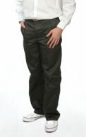 V3 Premium School Uniforms_Secondary Boys Long Pants_OLIVE GREEN