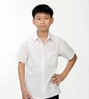 V3 Premium School Uniforms_Primary Boys Short Sleeve White Shirt_SUPER WHITE
