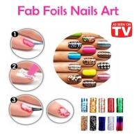 MALAYSIA: ALAT HIASAN KUKU WANITA / Fab Foils Nails Art