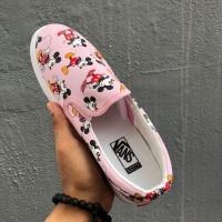 Vans Slip-On Mickey Low Top Women's Casual Shoes, Sneakers Sport Shoes Kasut Wanita- 36-40 EURO