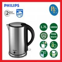 Philips Keep Warm Function Stainless Steel Jug Kettle 1.7L - HD9316