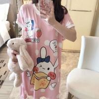 Woman Pyjamas Plus Size Pyjamas Woman Sleep Dress Milk Silk Sleepwear