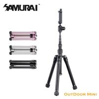 (SAMURAI)SAMURAI OutDoor Mini 1 eccentric tube five-section tripod