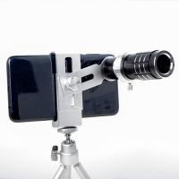 12X Universal Metal Telephoto Telescope Black