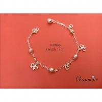 Pure Sliver 925 Ribbon Bracelet-Charminie