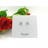 Sliver 925/Perak 925 Cherry Earrings (Sliver plated Platinum)-Charminie
