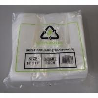 MDPP Singlet Bag / 500g 10 x 13 inch Clear MDPP Singlet Plastic Bag / Thin MDPP Singlet Bag / Jenis Nipis / 高级透明袋