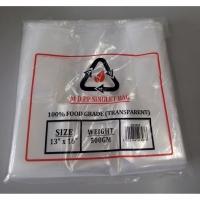 Transparent MDPP Singlet Bag / 500g 13 x 16 inch Clear MDPP Singlet Plastic Bag / Thin MDPP Singlet Bag / Jenis Nipis