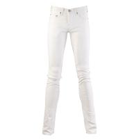 (truereligion)[United States True Religion] male ROCCO narrow tube slim jeans - white
