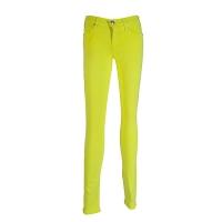 (truereligion)[United States True Religion] female Halle yellow skinny jeans