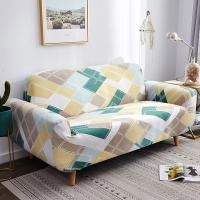 (歐卓拉)Brisk living elastic sofa cover double seat