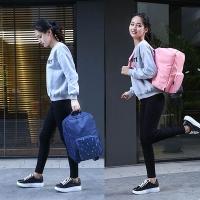 E.City_Large Capacity Portable Waterproof Travel Trolley Folding Backpack