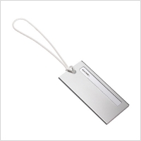 (REFLECTS)REFLECTS Square Luggage List (silver)