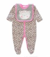 Cat Leopard Pink Set