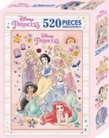 迪士尼公主 520片盒裝拼圖(D)