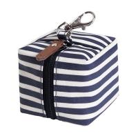 (jojo maman bebe)British JoJo Maman BeBe Infant Pacifier Storage Bag_Navy Stripe (JJD9505)