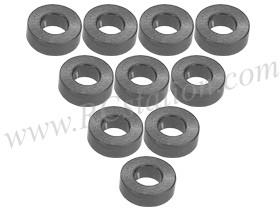 Aluminium M3 Flat Washer 2.0mm (10 Pcs) Titanium #3RAC-WF320/TI