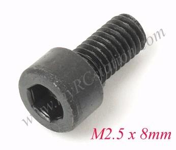 CAP Screw M2.5 x 8mm (8pcs) #TTL151