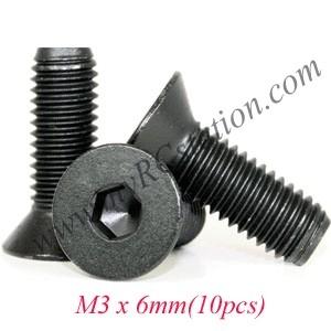 CSK M3 x 6mm (10pcs) #TTL135