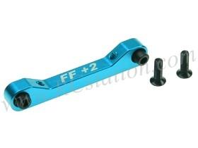 Front Aluminum Suspension Mount (FF/2 Degree) For TA-05 #TA05-10/2/LB