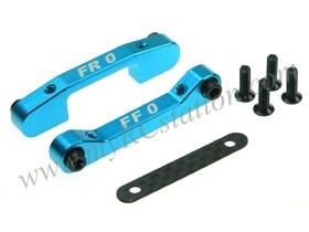 Front Aluminum Suspension Mount Set (0 Degree) For TA-05 #TA05-10/0/LB